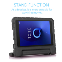 """screen film For Alcatel 3T 8"""" 9027W Alcatel T Mobile A30 8"""" 9024W 2019 Tablet Case EVA Shockproof Handle Protective Stand Cover+ Screen Film (3)"""