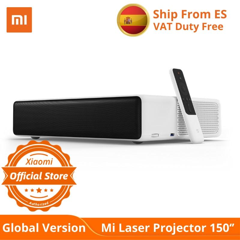 "Globale Version XIAOMI Mi Laser Projektor 150 ""UST Android TV 4K Laser Kino Bild 5000 Luma Helligkeit DOLBY DTS"