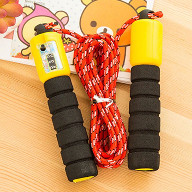 The Academic Test For The Junior High School Students Only Jump Rope Children Training Jump Rope Weight Fitness Jump Rope Game C