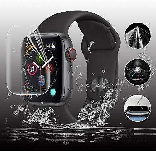 Полная защитная пленка для Apple Watch, защита экрана 42 мм 44 мм 40 мм 38 мм для iwatch SE 6 5 4 3 2 1, пленки, не закаленное стекло