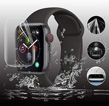 Pełna ochrona hydrożelowe folia do Apple osłona na szybkę zegarka 42mm 44mm 40mm 38mm Iwatch 5 4 3 2 1 filmów nie hartowane szkło tanie tanio HUALIMEI Z tworzywa sztucznego Zegarek Przypadki case for iwatch series 5 4 3 2 1 For apple watch series 5 4 3 2 1 Transparent