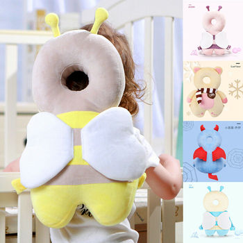 Baby Head Protection Pad Toddler Headrest Pillow Baby Neck Cute Wings Nursing Drop Resistance Cushion Baby Protect