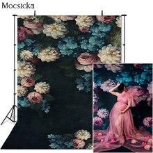 Фотофон mocsicka с пионами цветами абстрактный фон для фотографирования