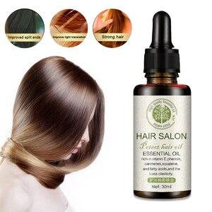 Keratin Repairs Hair Regrowth Serum Herb Hair & Scalp Treatment Deep Nourish Damage Hair Root Hair Care Essential Oil 30ml TSLM1