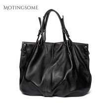oversized Natural Leather Large Women Genuine Leather Cow Leather Tote Bag Cowhi