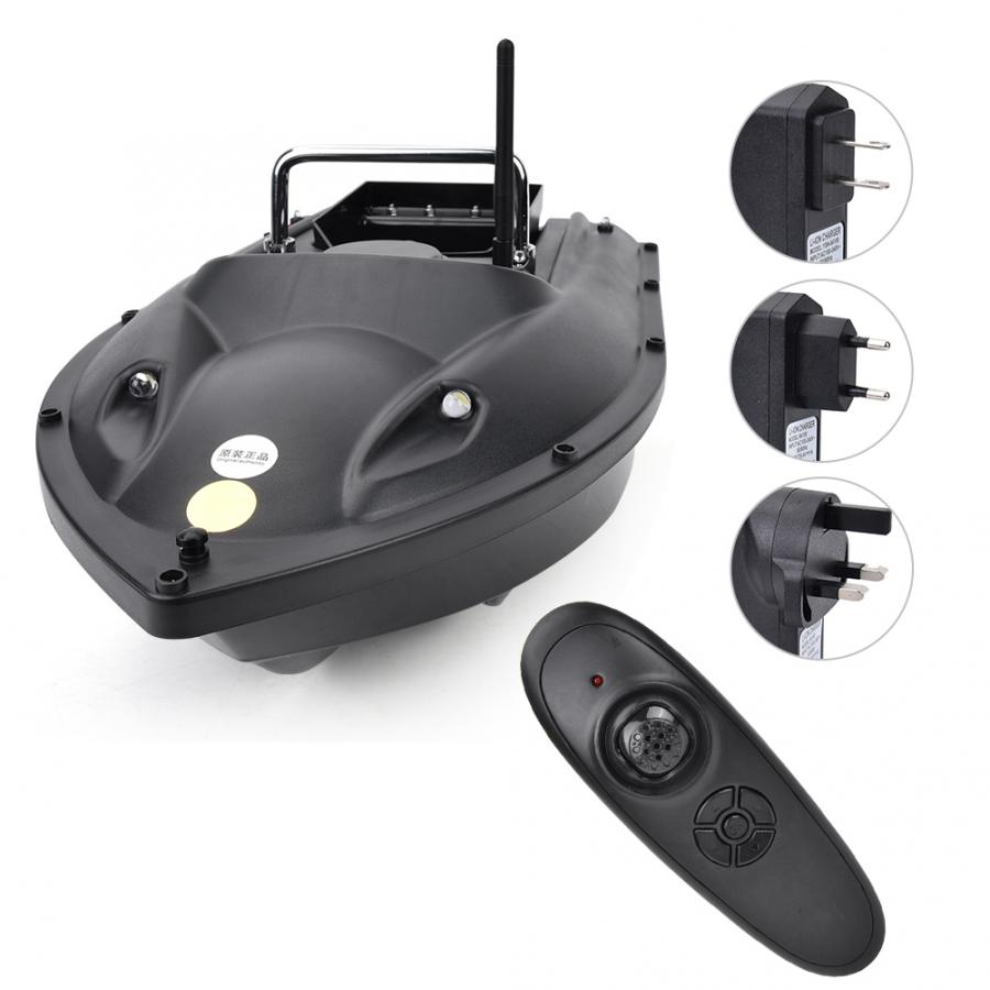 EU/US/UK Plug RC Ship Boat 500m Remote Control Wireless Fishing Lure Bait Boat Fish Finder Radio Control Speedboat Fish Toys