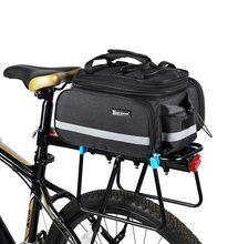 Сумка для багажника велосипеда west biking 3 в 1 сумка дорожного