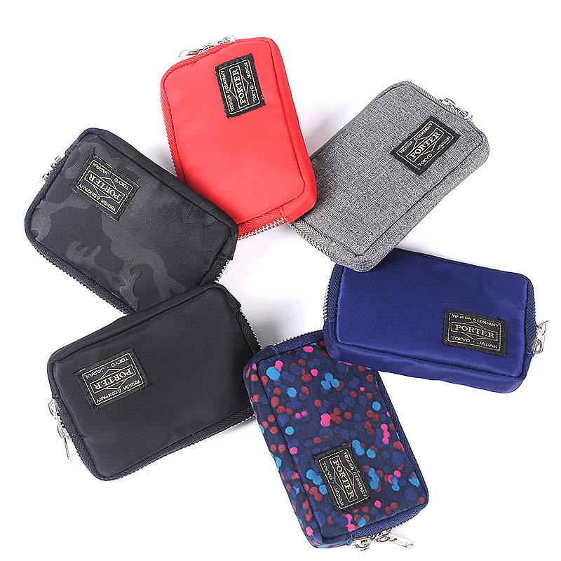 2019 Japanese And Korean Brand Men Wallet Nylon Cloth Short Wallet Female Handbag Casual Women Wallets Youth Purse