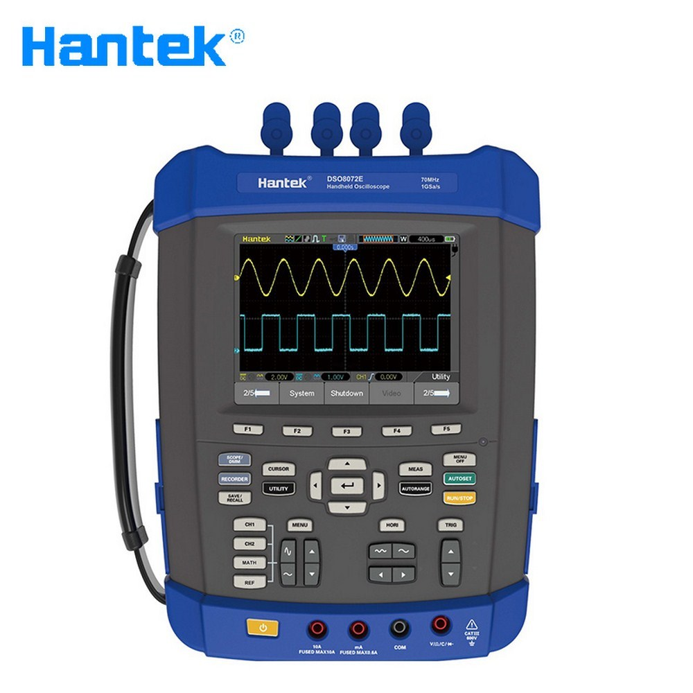<font><b>HANTEK</b></font> 6 In 1 Handheld Digital Oscilloscope Dual Channel Multimeter 1GS/s DSO1062B <font><b>DSO1102B</b></font> DSO1202B DSO8072E DSO8102E image