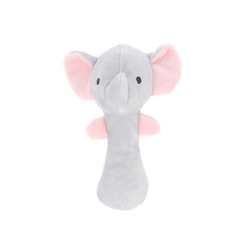 วัว Sticks ตุ๊กตา Plush Hand Handle สัตว์ของเล่นเด็ก Crib เตียงแขวน BB Rattles ของเล่นตุ๊กตาของเล่นเด็ก
