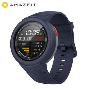Heart-Rate-Monitor Smart-Watch GPS GLONASS Android Phone Amazfit Verge Global-Version