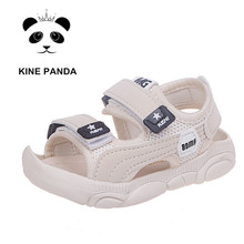 KINE PANDA Toddler Girl Boy Sandals Newborn Baby Shoes Summe