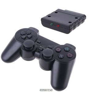 Image 3 - Wireless Gamepad Vibrator 2.4G Game Controller Joystick with Receiver for PS2 Dropship