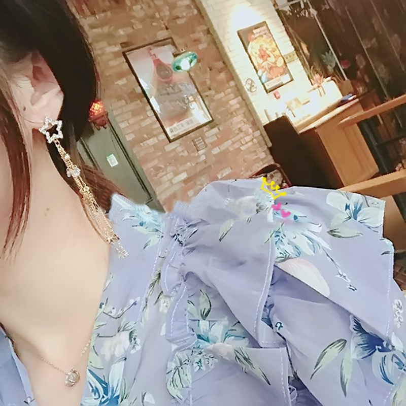 Женские серьги подвески с жемчугом mengjiqiao новые корейские