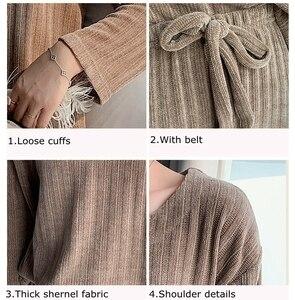 Image 5 - JULYS أغنية امرأة الشتاء الفانيلا منامة مجموعات 2 قطعة منامة الدافئة سميكة ملابس خاصة امرأة عارضة Homewear
