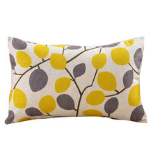 Simple Geometric Pillow Case Print Fashion Throw Pillow for Bedroom Pillow Cover Pillowcases Kids Room Decorative
