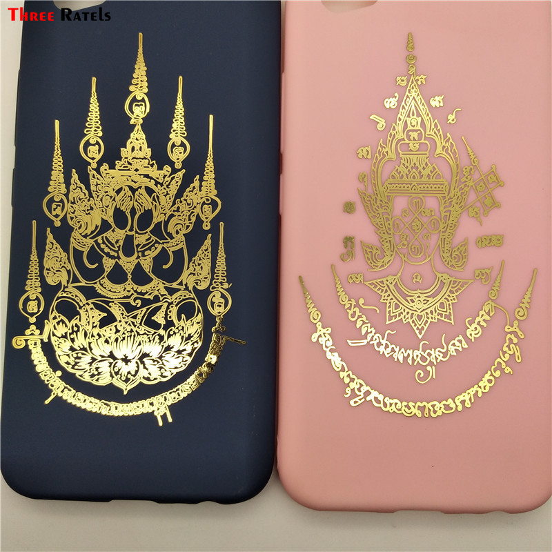 Three Ratels Thailand Buddha Hide Their Faces And Nana Metal Sticker Decal For Car Cellphone Laptop Tablet Skateboard