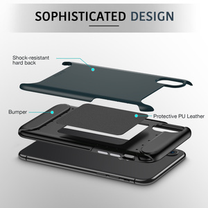 Image 4 - ESR Rambler Rugged Heavy Duty Case for iPhone X/XS/XR/XS Max Bumper Armor Case 360 Protective Shock Absorbing TPU Cover XS Case