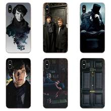 Soft TPU Protective Cover Case Sherlock Holmes For Huawei Honor Mate Nova Note 20 20s 30 5 5I 5T 7C 8A 8X 9X 10 Pro Lite Play(China)