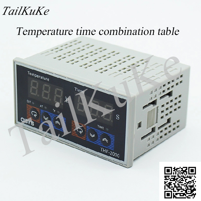 THF-2000 Horizontal High Precision Microcomputer Intelligent Time Temperature Controller Temperature Timer
