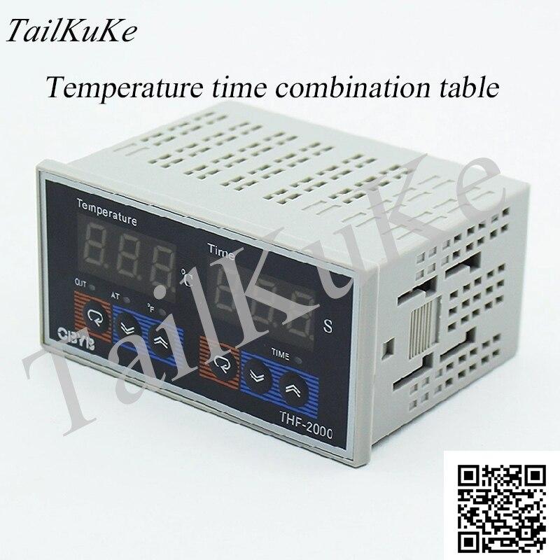 THF-2000 Horizontal High Precision Microcomputer Intelligent Time Temperature Controller Temperature Timer