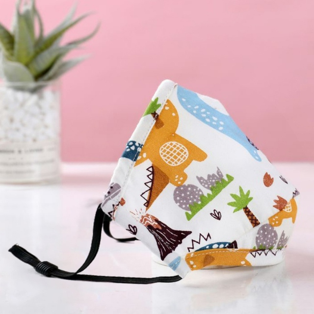 Children face Mouth Mask With Breath Design Replaceable Filter Anti Dust Mouth Mask PM2.5 Kids Face Mask 1