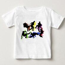 цена на New Spring Boys Hip-Hop T-shirt 2020 Children's T Shirt for Kids Boys Tops Tees Baby Cotton T Shirt Summer Hip-Hop T-shirt