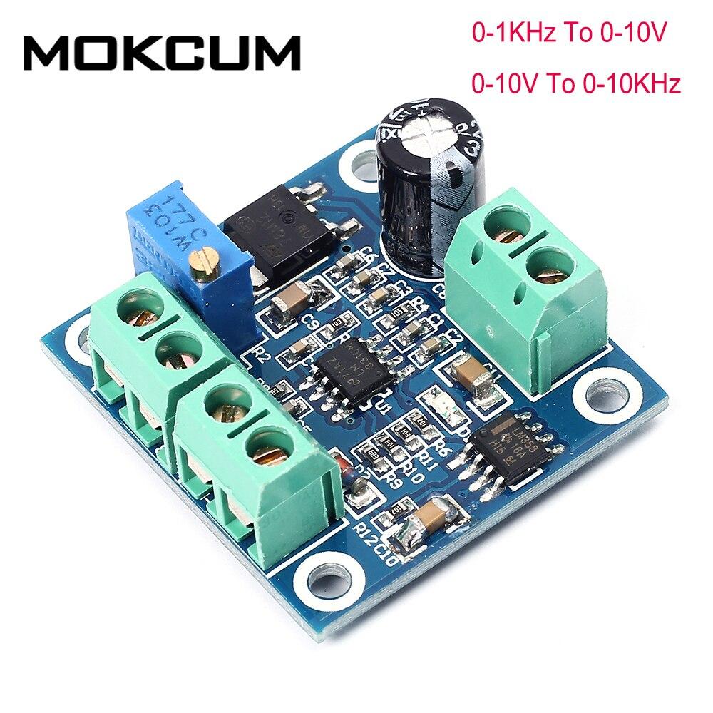 Módulo conversor de voltaje a frecuencia módulo de conversión 0-10 V a 0-10 kHz