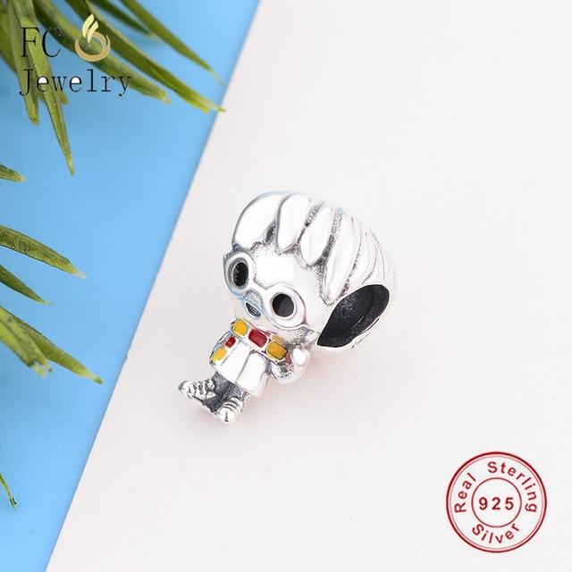 Fit Original Pandora Charms Bracelet 925 Sterling Silver Harry Charm Beads Pendant Dangle 925 Silver Berloque
