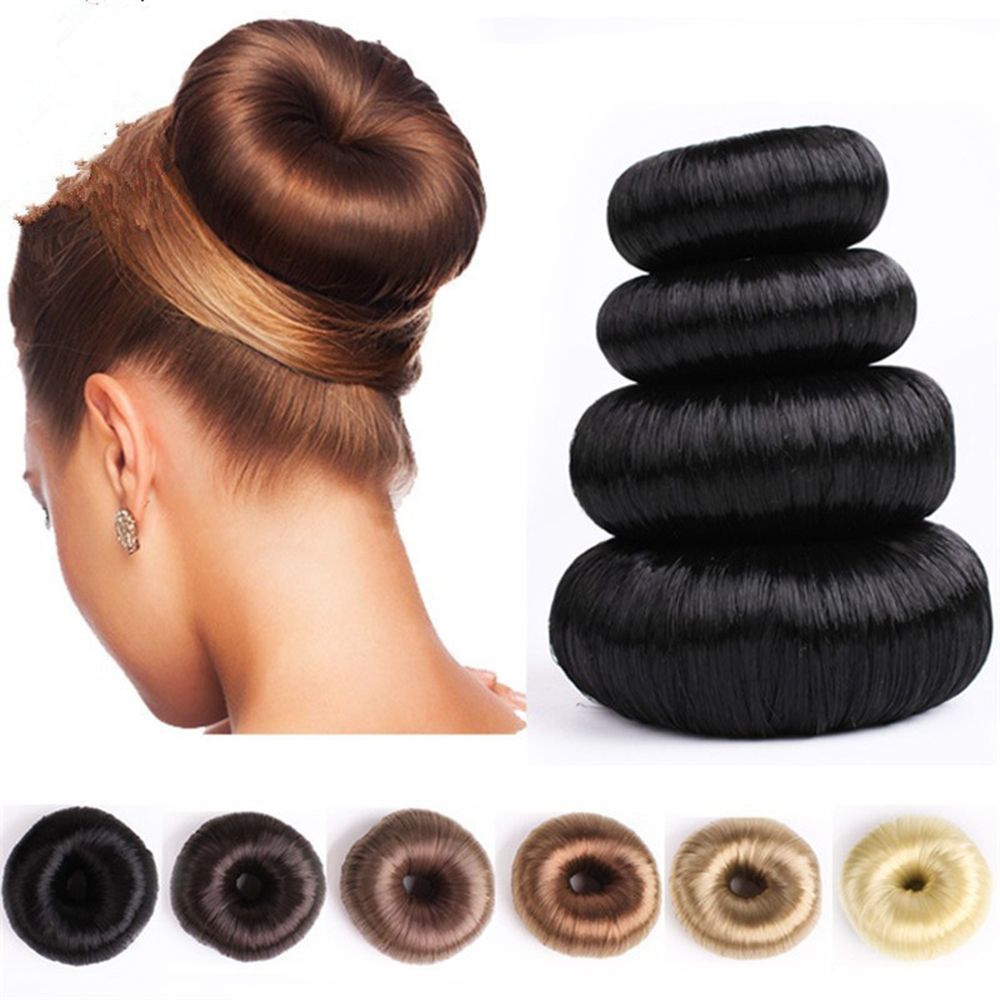 Новый парик пончик головная повязка женские аксессуары для волос Волшебная заколка для волос для девушек головная повязка для волос французское блюдо поворот «сделай сам» приспособление для прически