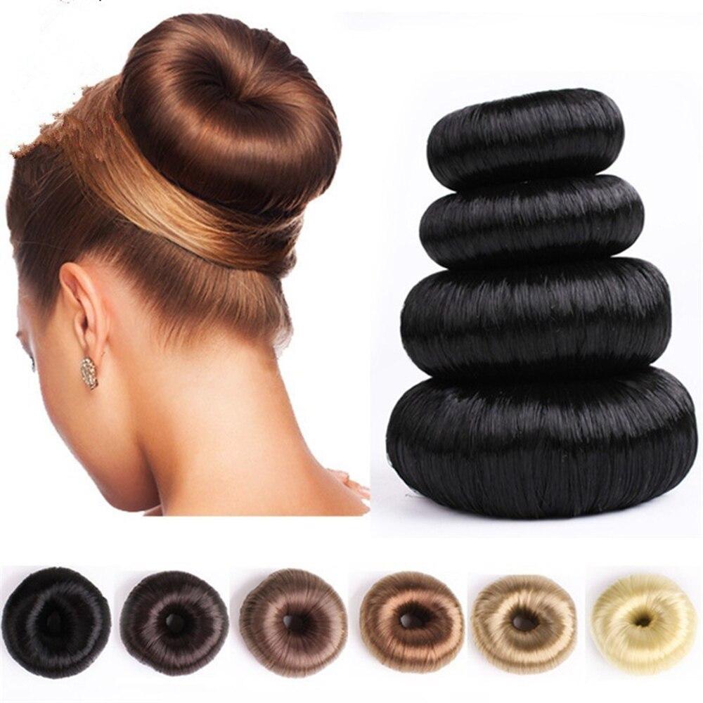 Новый парик пончик головная повязка женские аксессуары для волос Волшебная заколка для волос для девушек головная повязка для волос францу...