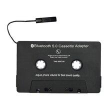 Горячая Bluetooth V5.0 беспроводной iTape CSR EDR стерео аудио кассетный плеер приемник адаптер поддержка AAC/MP3/SBC/стерео монитор для автомобиля