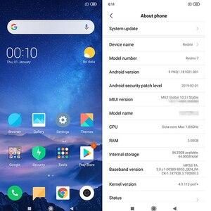 Image 3 - Global Versão Xiaomi Redmi 7 6.26 Polegada 32 3GB de RAM GB ROM do Smartphone Snapdragon 632 Núcleo octa 12MP + câmera 4000mAh 8MP Plugue DA UE