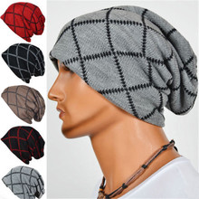 Autumn Winter Soft Warm Knitted Cap Breathable Fitted Cap Men Unisex Knit Beanie Ski Hat Baggy Slouchy Winter Skull Hip Hop Cap купить дешево онлайн