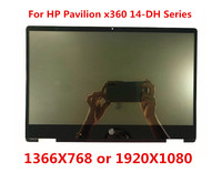 For HP Pavilion x360 14M DH0003DX 14 DH0008CA L51119 001 14.0 FHD LCD Display Touch Screen Assembly +Digitizer Control Board