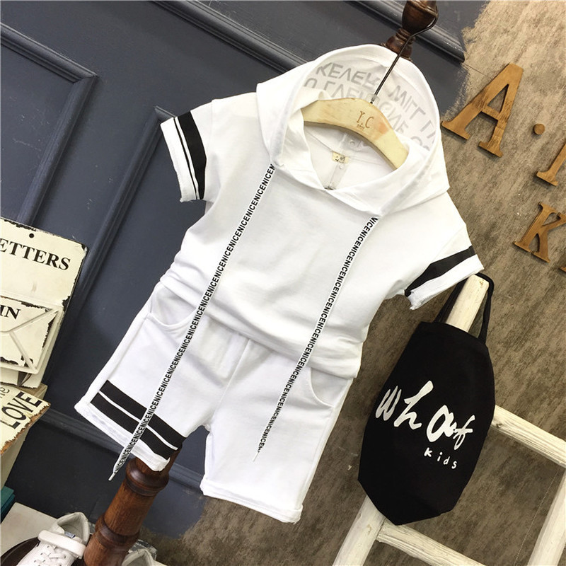 Toddler Baby Girls Boys Clothing Sets Spring Summer Kids Outfits Hoodie T-shirt+Pants 2pcs Tracksuit Children Clothes Sport Suit
