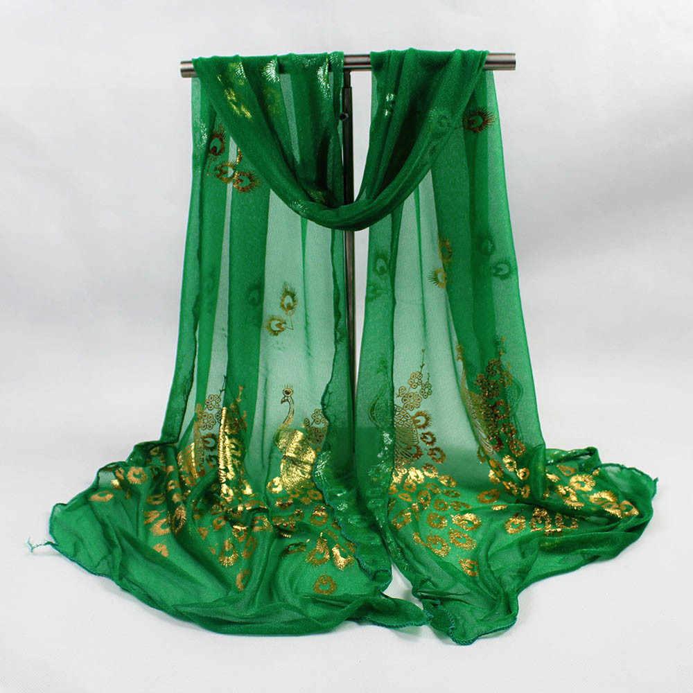 Bufanda de hilo largo y suave para mujer, chal, chal, bufandas Pashmina, hilo de París, estampado Floral, Wai Sjaal vruwen Foula # P30