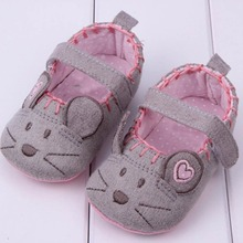 New Toddler Baby Little Mouse Crib Shoes Boy Girls Casual Co