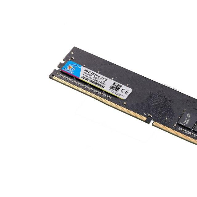 VEINEDA DDR4 8GB ddr 4 4gb PC Память ram Memoria модуль настольный компьютер 1,2 V напряжение NON-ECC PC4 4g 8g 4