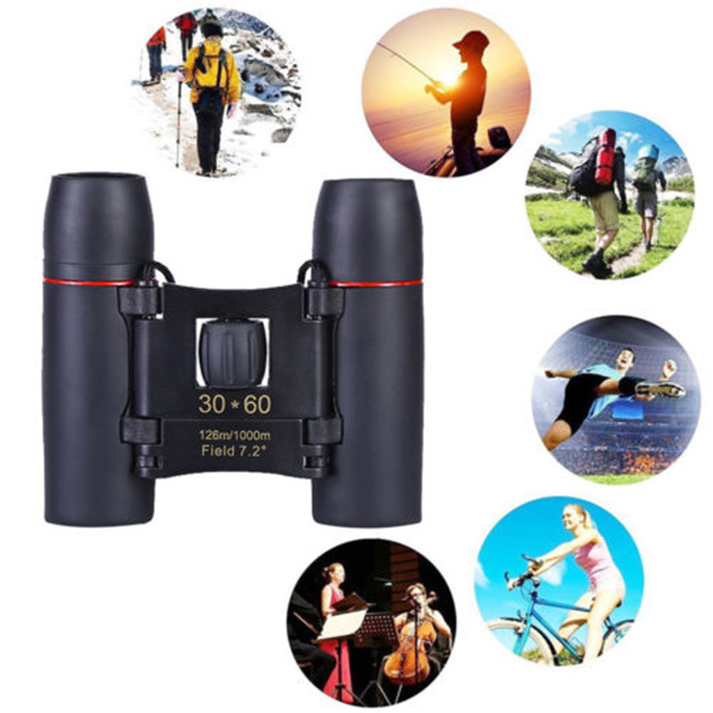 1000m Telescope 30x60 Folding Binoculars with Low Light Night Vision for outdoor bird watching travelling hunting camping A30729 2