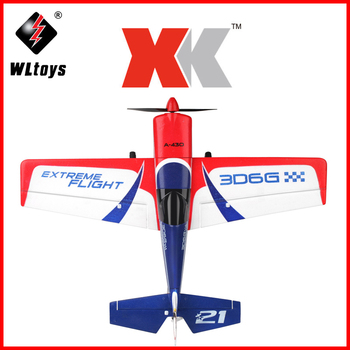 Orginal XK A430 Drone 2.4G 8CH 3D6G System Brushless Motor RC Airplane Compatible Futaba RTF Outdoor Toys Remote Control Plane