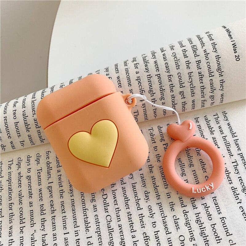 Чехол для airpods 2 чехол с рисунком любящего сердца беспроводных