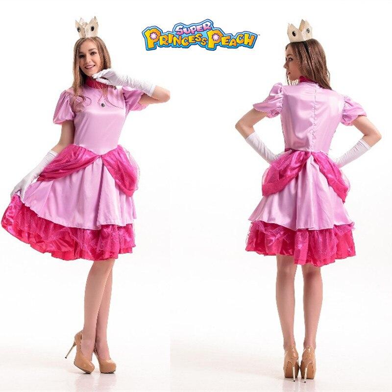 Princess Costume Woman Fancy Adult Girls Party Dress
