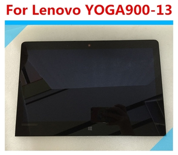 13.3 LCD Display  For Lenovo Yoga 900-13ISK 80MK LCD Touch Screen Digitizer Assembly With Bezel 14led lcd display touch screen assembly with bezel for lenovo thinkpad 00hm039 00hm915