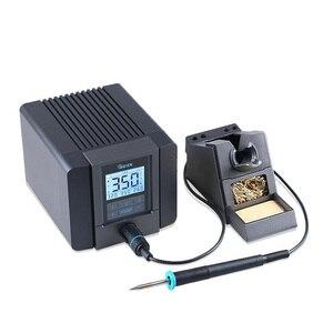 Image 2 - سريع TS1200A أفضل نوعية محطة لحام خالية من الرصاص الحديد الكهربائية 120 واط مكافحة ساكنة لحام 8 ثانية لحام سريع التدفئة