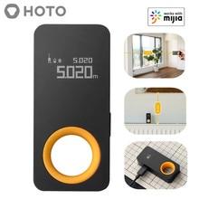 New HOTO Tape Measure, Smart Laser Rangefinder, Intelligent, 30M, OLED Display, Laser Distance Meter, Connect To Mihome App