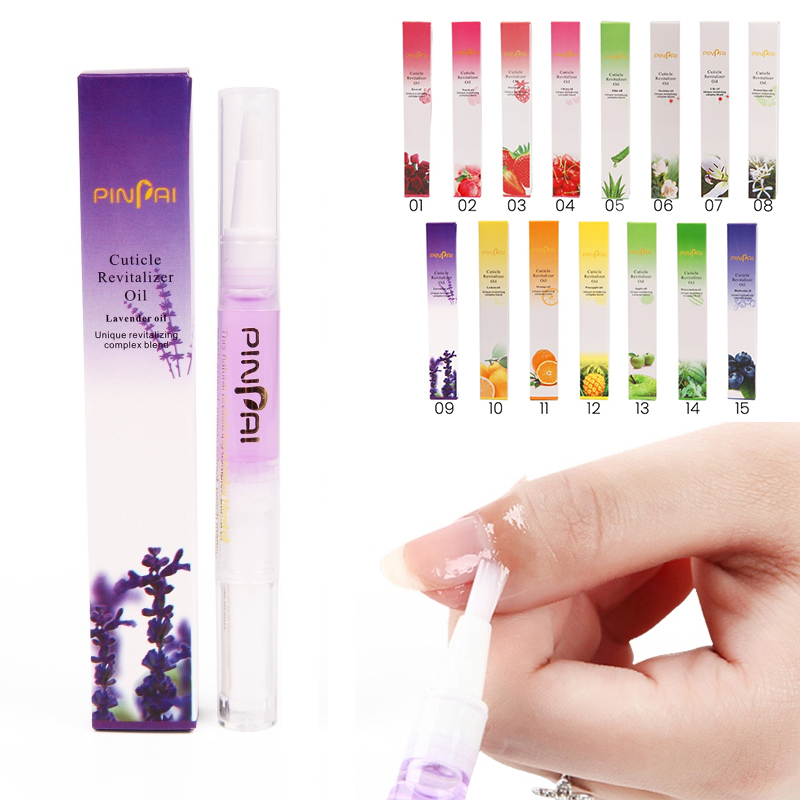 15 Styles Nail Cuticle Oil Revitalizer Nutrition Nail Art Tools for Manicure Care Nail Treatment Soften Pen Tool Cuticle Oil Pen
