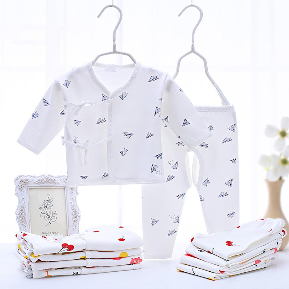 2Pcs/Set Baby Girl Boy Clothes Newborn Clothes Sets Outfit Spring Long Sleeve Infant Clothing Suit Cotton 0-3M