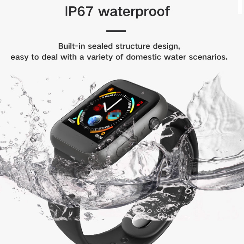 SX16 Smart watch Waterproof Sport Fitness Heart Rate Track Bluetooth Call Refuse for Android IOS pk Iwo8 Lite W34 B57 Smart Band