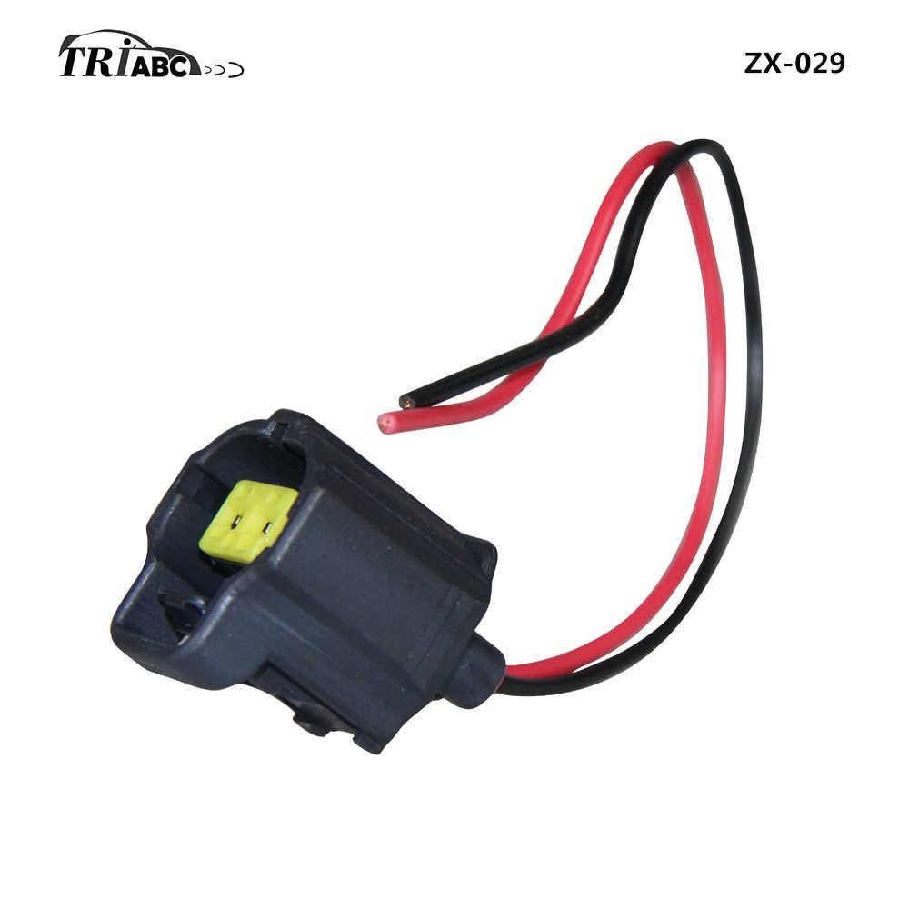 Conector cabo plug com fio para ford fiesta v monii mondeo mk ii pdc sensor de estacionamento os terminais parktronic 2 pinos maneiras
